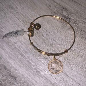 Alex and ani bracelet bangle gold